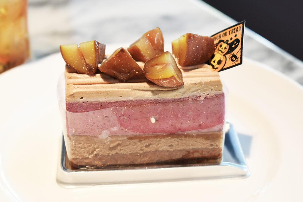 カシスウーロンケーキ