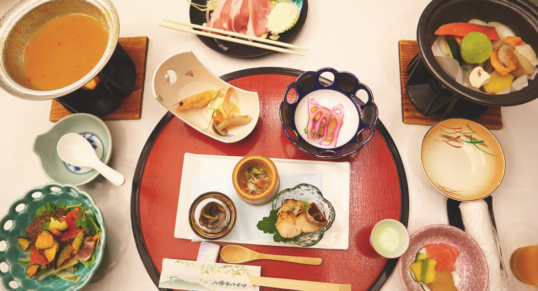 八幡平ハイツ食事1